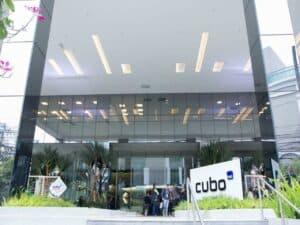 fachada do prédio do Cubo Itaú representando Cubo Itaú