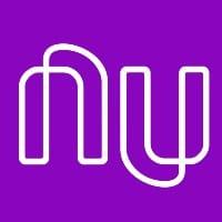 Imagem com a logomarca do Nubank, que tem uma das melhores contas digitais do mercado