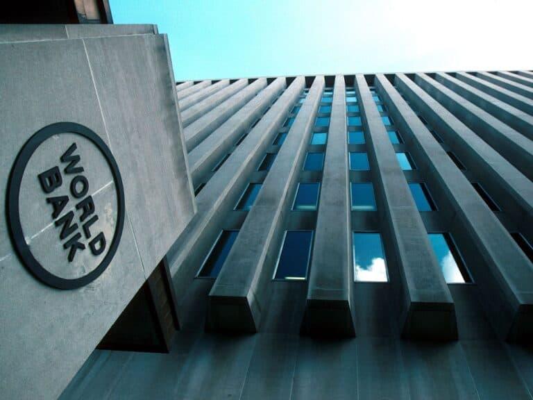 fachada do banco mundial, que prevê crescimento do PIB brasileiro