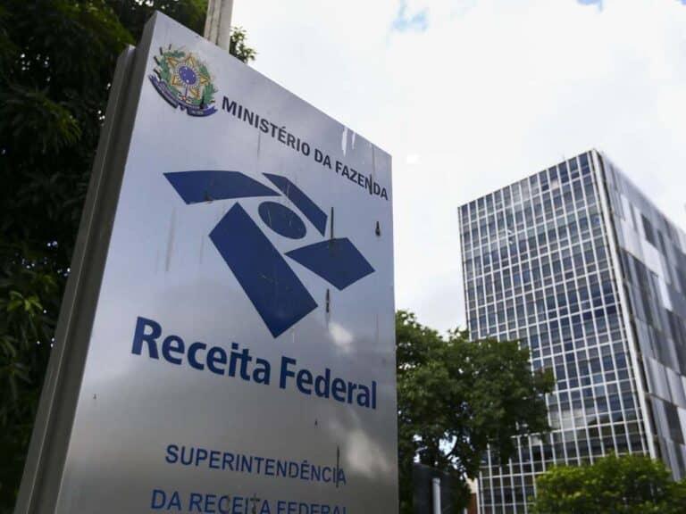 fachada da receita federal, representando contestar valor do imposto de renda