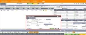 captura de tela mostrando uma boleta de compra
