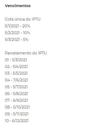 Parcelamento IPTU Florianópolis