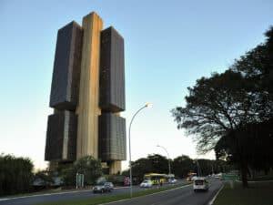 foto do prédio do Banco Central, em Brasília, representando ranking de reclamações do bc