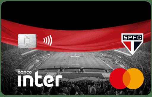 Imagem do Cartão Inter SPFC
