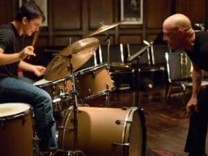 Imagem do filme Whiplash - Em Busca da Perfeição, ilustrando o conteúdo sobre como ter disciplina