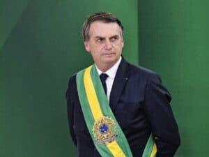 Presidente Jair Bolsonaro, que fez intervenção na Petrobras