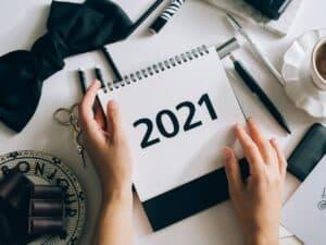 Imagem de um calendário para ilustrar a calculadora de diferença entre datas