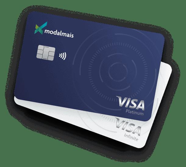 Imagem do cartão modalmais, uma opção de cartão com cashback