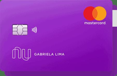 Cartão Nubank, um dos melhores cartões de crédito sem anuidade