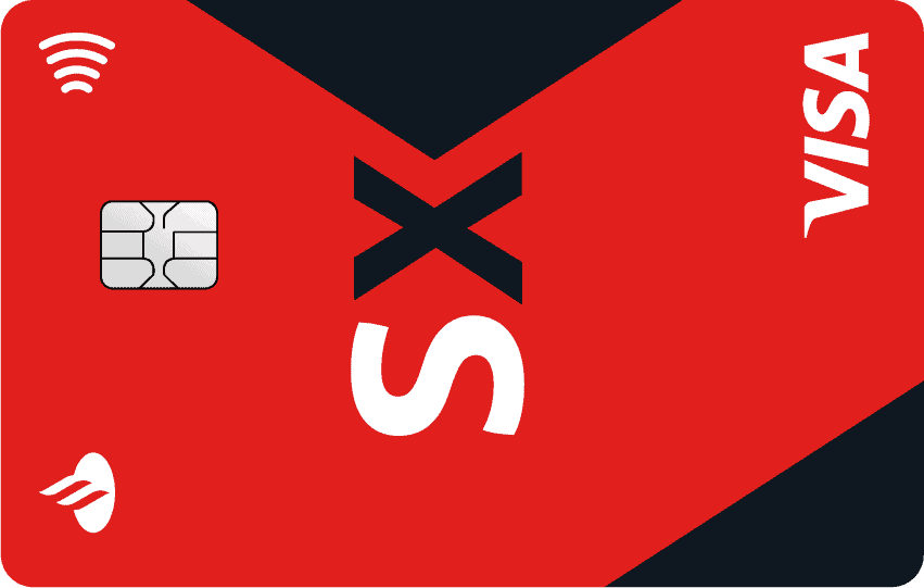 Imagem do cartão Santander SX, um dos melhores cartões de crédito sem anuidade