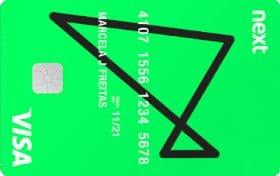 Imagem do cartão Next, cartão de crédito para autônomo