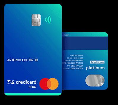 Cartão Credicard Zero sem anuidade