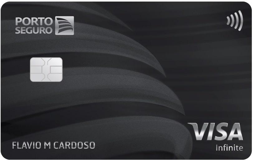 Imagem do cartão Porto Seguro Visa Infinite