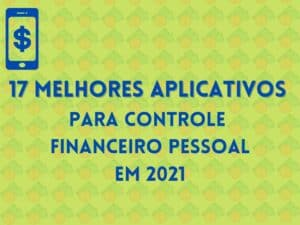 capa apps para controle financeiro pessoal