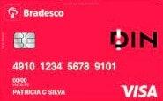 Cartão Pré-Pago Bradesco DIN