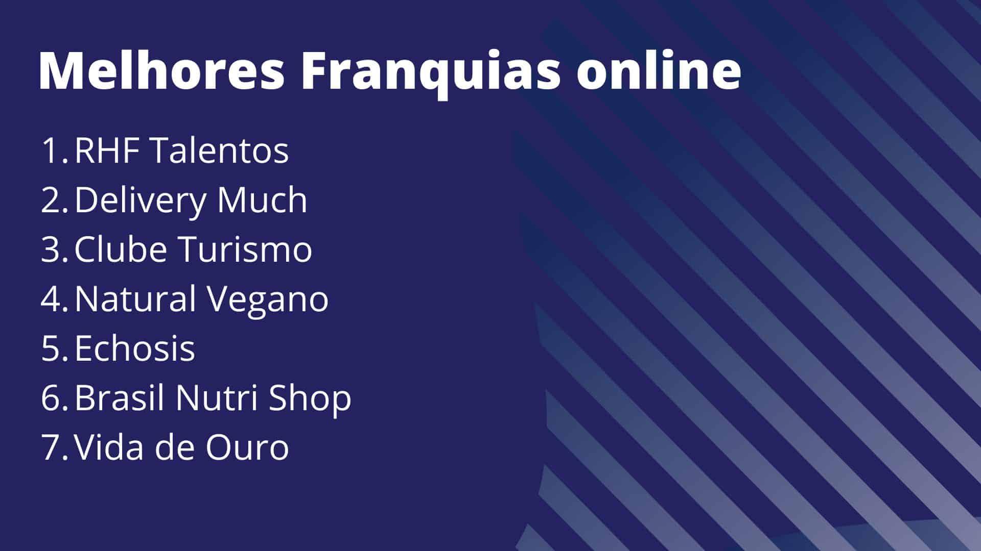 melhores franquias online