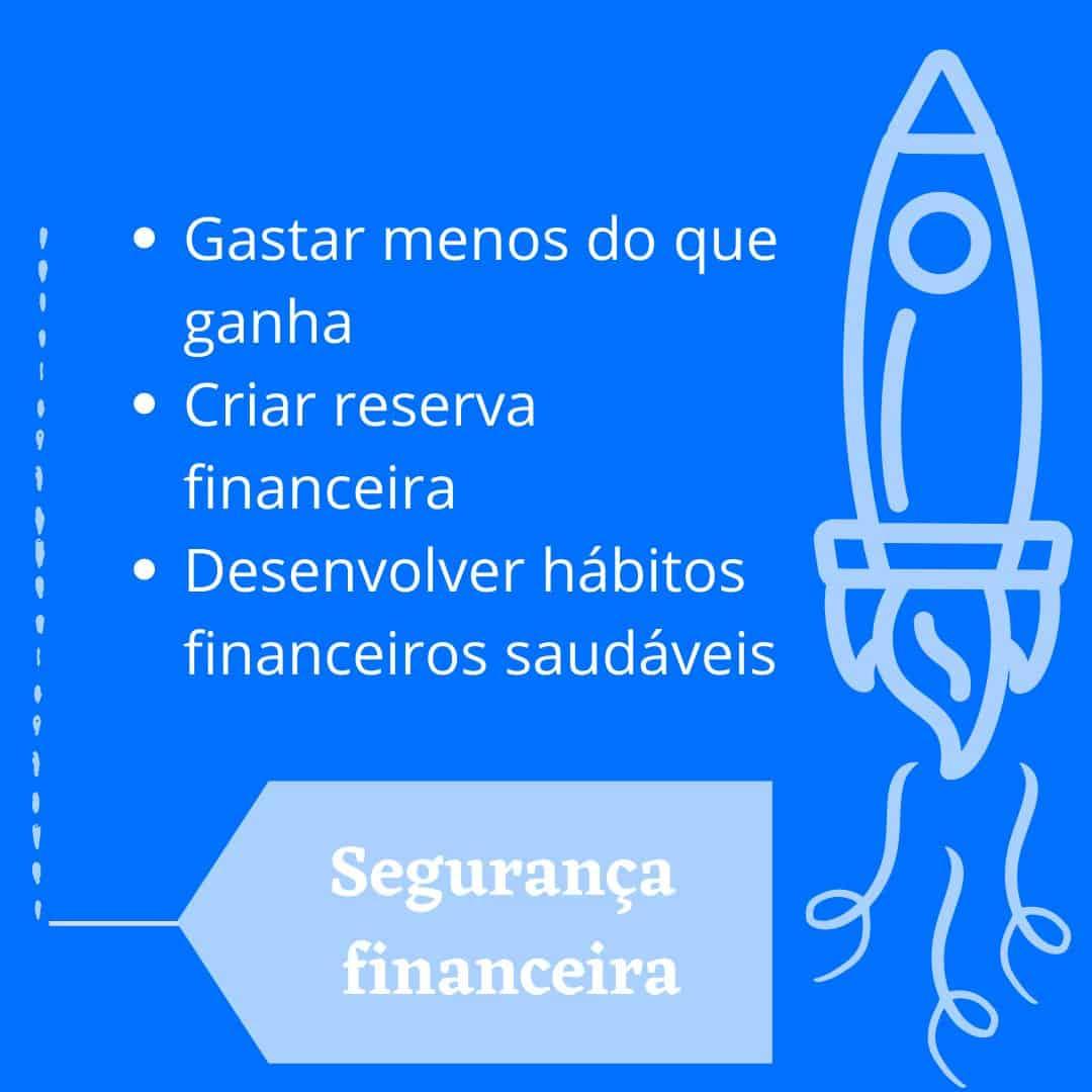 segurança financeira etapas