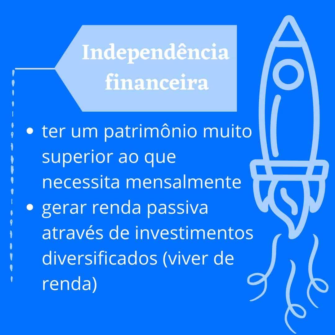 independente financeiramente
