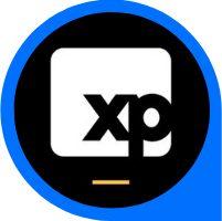 logo do app da corretora xp
