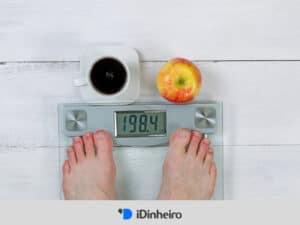 balança representando a calculadora de imc
