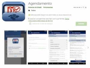 aplicativo da Receita Federal na loja Google Play representando Receita lança aplicativo