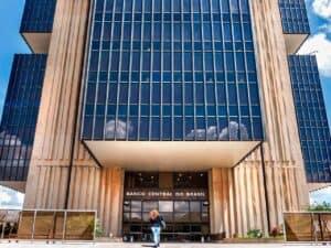 fachada do Banco Central, representando abertura de conta de pagamento em fintechs