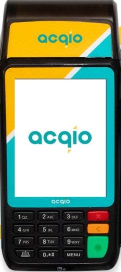Imagem da máquina de cartão acqio s920
