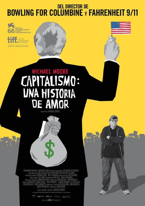 Capa do filme Capitalismo: uma história de amor