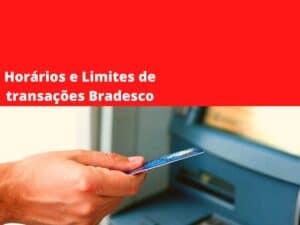 Limites de transações Bradesco