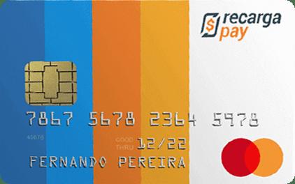 Imagem do cartão de crédito pré-pago recargapay