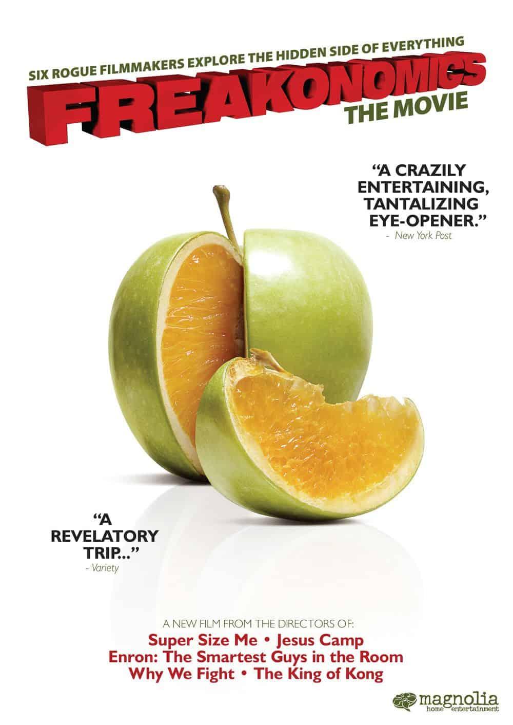 Capa do filme Freakonomics