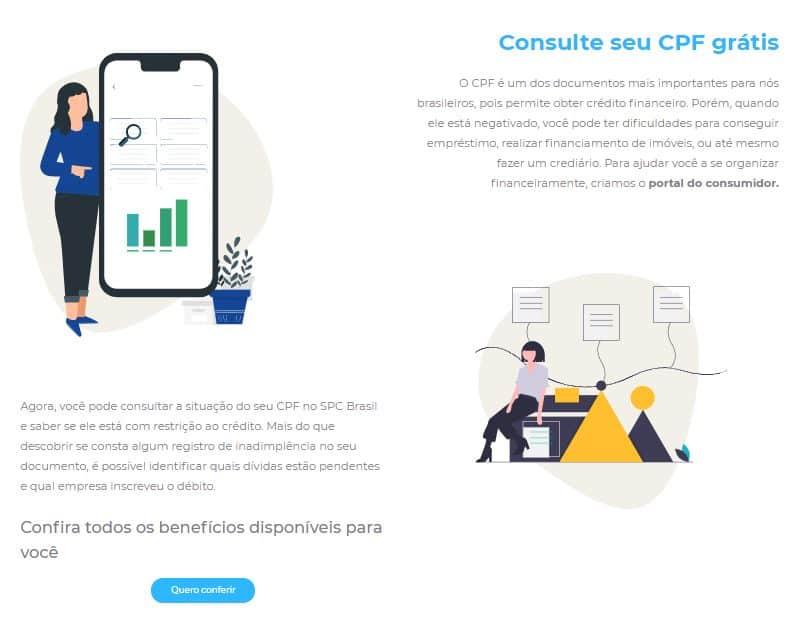 Consultando o CPF pelo SPC