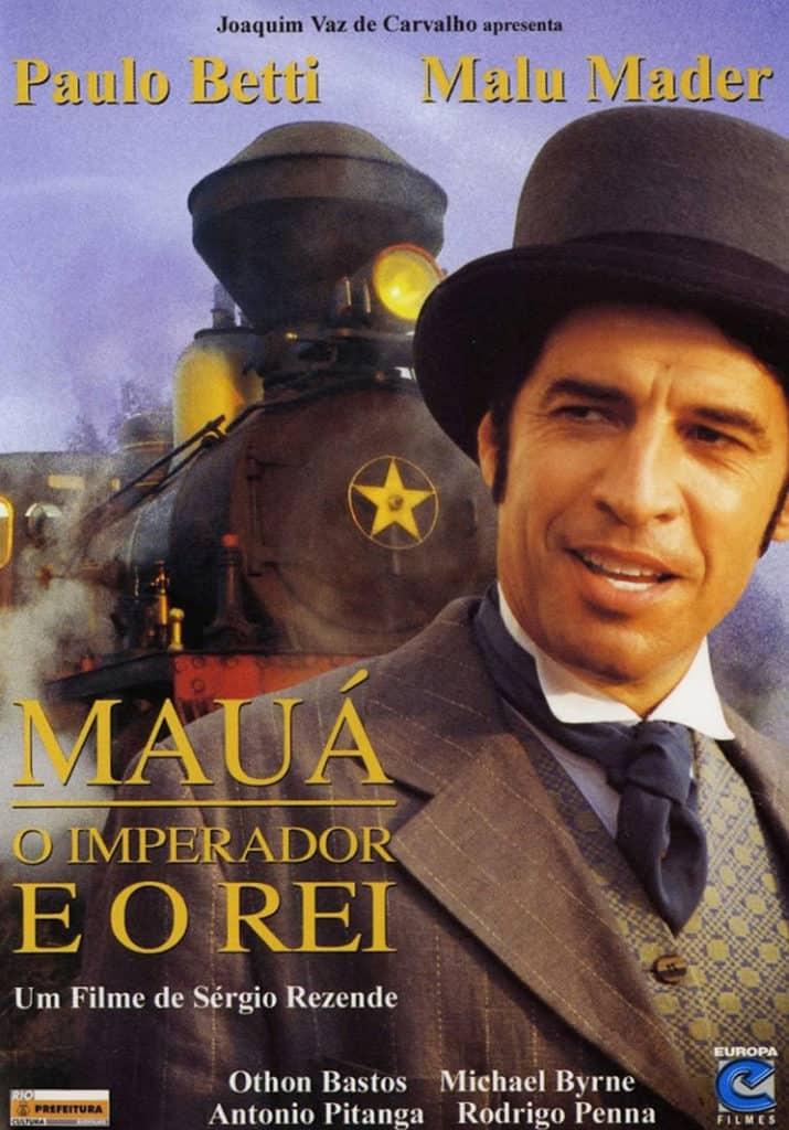 Capa do filme Mauá - O imperador e o rei