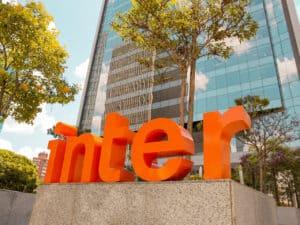 fachada do banco inter, que oferece empréstimo rápido
