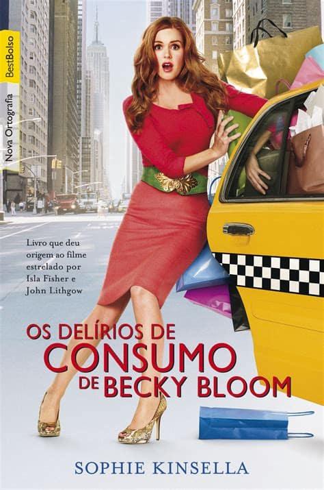 capa do filme Os delírios de consumo de becky bloom