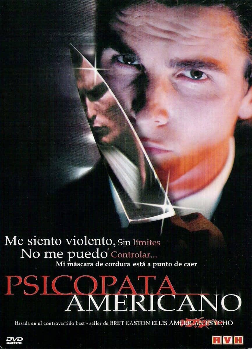 capa do filme psicopata americano