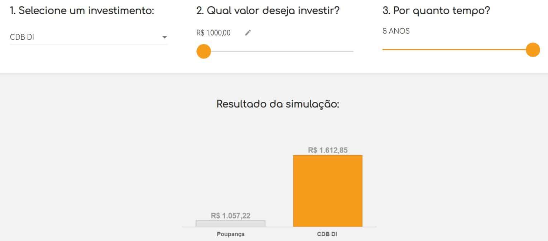 simulador de investimentos bmg invest digital