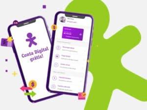 Conta digital Vivo Pay.